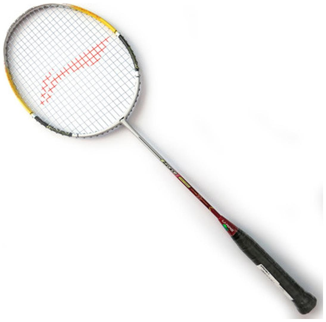 Li Ning G Force Power 1000 S2 Strung Badminton Racquet Multicolor  Grip Size G4  by Royal Sports