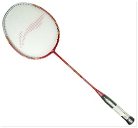 Li-Ning G-Force Pro 2000 Strung Badminton Racquet With One Li-Ning Over Grip Free