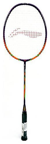 Li Ning G Lite 82 Light Weight Badminton Racquet   Dark Purple/Orange