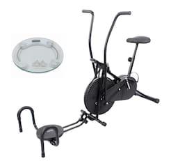 Lifeline Air Bike With Twister And Push Up Bar    Bonus Weighing Machine