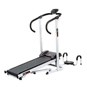 Lifeline Manual Treadmill With Twister And Push Up Wheel