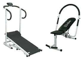 Lifeline Manual Treadmill + Ab Care King Pro Combo Offer