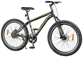 Lifelong LLBC2602 Falcon 26T with Disc Brake & Suspension Cycle (Black) Ideal For: Adults (Above 15 years)|Ideal Height : 5 ft 4 inch+ I Unisex cycle