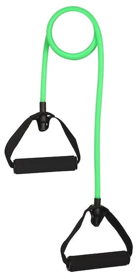 Liveup Toning Tube Resistance Band Green - Medium Resistance