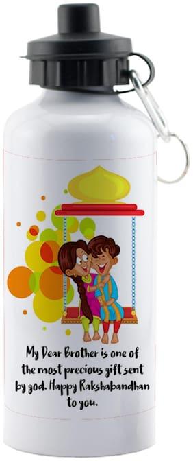 LOF Exculsive Rakshabandhan Special Gift For Brothers ( Happy Raksha Bandhan To You ) Sipper 600 ml