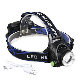 Lot 90000LM Rechargeable 18650  Headlight LED Tactical Zoomable T6 Headlamp USA