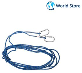 Magideal 10M 8mm Rock Climbing General Purpose Rappelling Auxiliary Rope - Blue