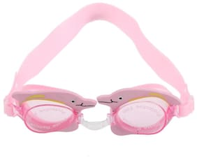 486ee658bb1 Magideal Child Kids Anti-fog Swimming Swim Goggle Glasses w  Dolphin Decor  Pink