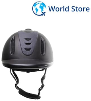 Magideal Strengthening ABS Vented Western Riding Safety Low Profile Horse Helmet M