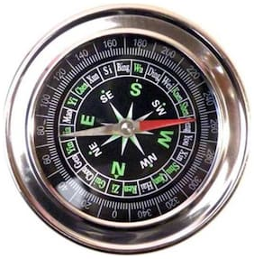 Magnetic Compass Military Sports Directional Compass Trekking Travel Black