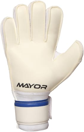 Mayor White Large Football Football glove