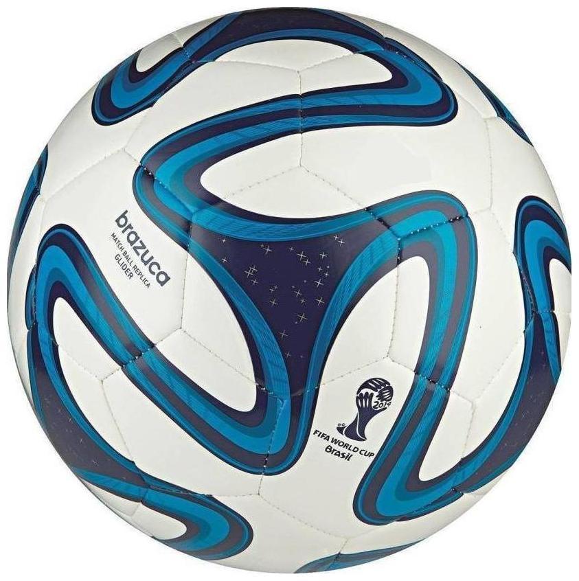 MDN BRAZUCA BLUE FOOTBALL  PACK OF 1