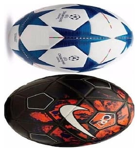 MDN CR7 & LEAGUE FOOTBALL COMBO ( PACK OF 2 )