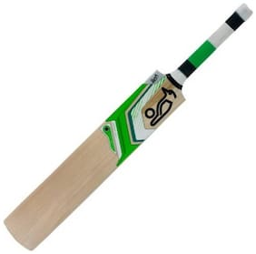 MDN Cricket Bat & Popular Willow Popular Willow Green & White