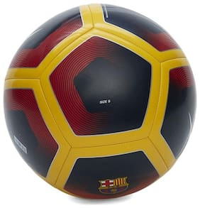 MDN FC-BARCELONA MULTICOLOR FOOTBALL SIZE-5 (PACK OF 1)