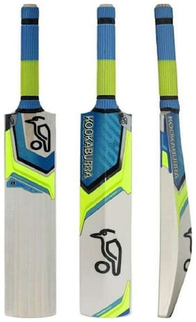 MDN Kashmir Willow & Cricket Bat Kashmir Willow Blue & Black