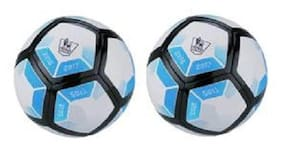 MDN Laliga 2016-2017 Blue/White Football (Size-5) - Pack of 2 Footballs