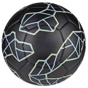 MDN Massi Black Football (Size-5) Football - Size: 5