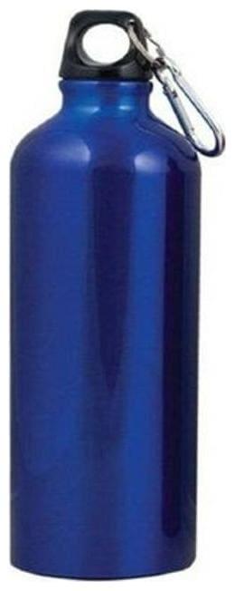 Meenamart stainless steel matt blue water bottle