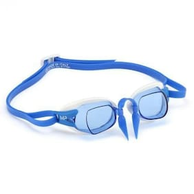 Michael Phelps (MPS) Chronos Goggle Blue Lens, White/Blue