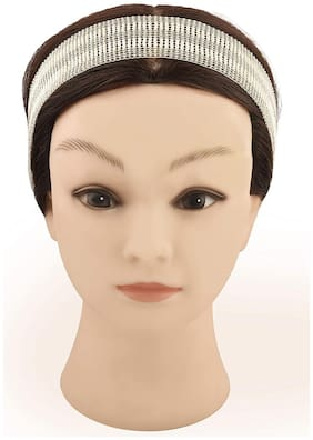 MMG OVERSEAS Silver Head band - 1 pc