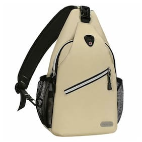 Mosiso Men Women Sling Backpack Cross body Chest Bag, Hiking, Camping, Travel