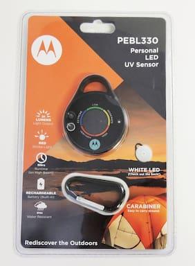 Motorola PEBL330 Personal LED Light with UV Sensor