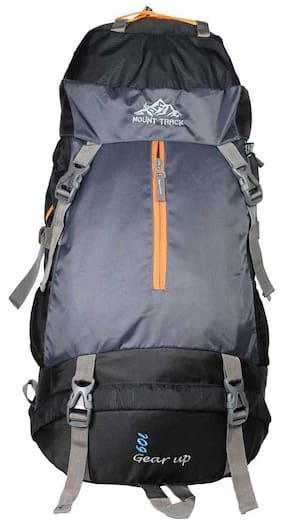 Mount Track Black Backpack
