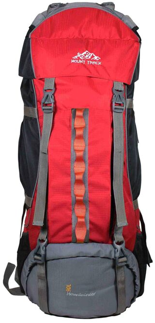 Mount Track 9108 Mountaineer Rucksack Backpack 90 LTRs Red