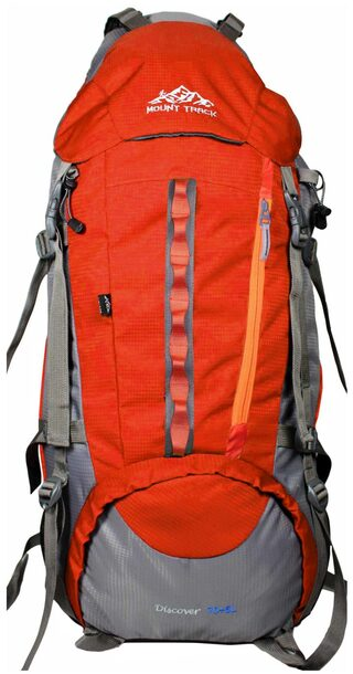 Mount Track Discover 9107 Rucksack  Hiking Backpack 75 Ltrs Orange