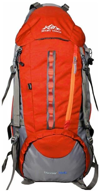 Mount Track Discover 9107 Rucksack  Hiking Backpack 75 Ltrs Orange