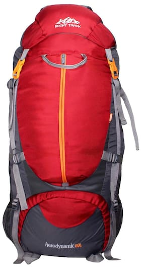 b78a1b38253a Mount Track 9106 Rucksack Hiking   trekking Backpack 80 L Red