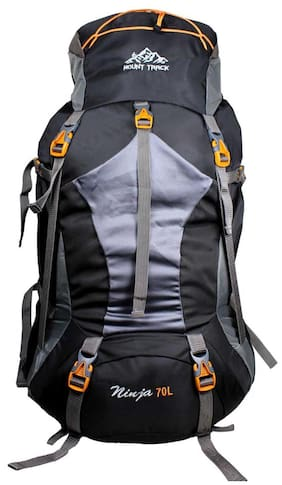 Mount Track Black Hiking bag