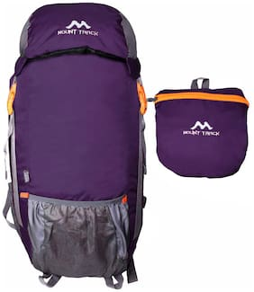 Mount Track Purple & Black Hiking bag & Backpack