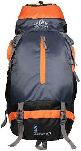 Mount Track Orange & Black Backpack