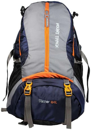 Mount Track Navy blue Hiking bag