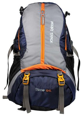 Mount Track Discover Rucksack, Hiking & Trekking backpack 60+5 Ltrs with Rain Cover
