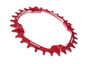 Mowa MTB Cycling Bike Narrow-Wide Single Chainring for Shimano Sram 30t Red