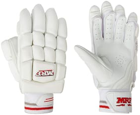 MRF ABD ELITE Batting Gloves YOUTH SIZE RIGHT HANDED BATS MAN