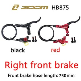 MTB Bike Front Rear Hydraulic Disc Brakes 160/180mm Disc Brake 6-Hole Rotors