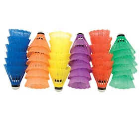 Multi-color Shuttlecocks (36-PACK)