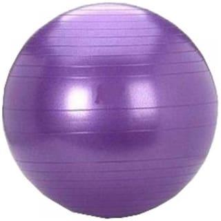 Multi Function Gym Fitness Aerobics Yoga Ball/Gym Ball/Exercise Ball/Swiss Ball/ Slimming 65 cm Exercise Ball - Purple