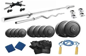 Muskular 18 kg with 4 rods Home gym package