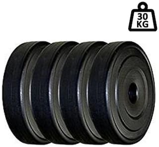 Muskular 30 kg PVC SPARE WEIGHT LIftING PLATES