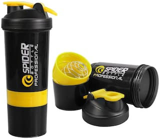 Must Have For Gym Lover Protein  Shaker Bottle, 500ml  ( Random Color )