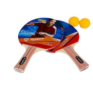 Brilliant Myghty Table Tennis Racket With Ball Set Of 2 My26128 Download Free Architecture Designs Barepgrimeyleaguecom