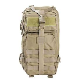 "NcSTAR VISM Small Backpack Tan Bug Out Bag 72 Hour Kit NWT 17""x8.75""x4.5"""