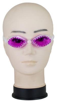 Neska Moda Unisex Anti-Fog & UV Protected Purple Swimming Goggle-Swim38