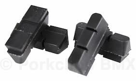 New Set 4 Kool Stop Suntour Superbe Replacement Brake Pad Inserts Black / Salmon