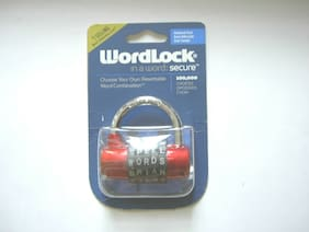 NEW WORDLOCK SECURE LOCK  W/100,000 CHOICES #1 Selling combination lock